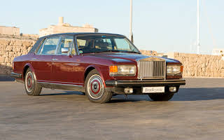 Rolls Royce Silver Cloud - Maroon Rent Central Region